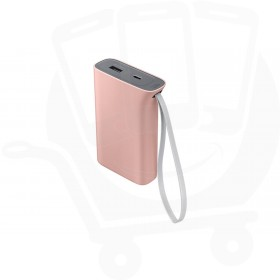 Official Samsung 5,100mAh Battery Pack Kettle Design Universal Portable Charger - Pink