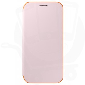 Official Samsung Galaxy A3 2017 SM-A320 Neon Pink Flip Case / Cover - EF-FA320PPEGWW