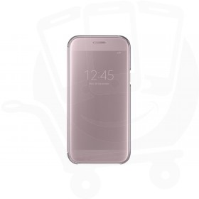 Official Samsung Galaxy A5 2017 SM-A520 Pink Clear View Cover / Case - EF-ZA520CPEGWW