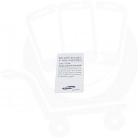 Genuine Samsung Galaxy A6 2018 SM-A600 White Main Label Void Box Outer Seal  - GH68-37285A