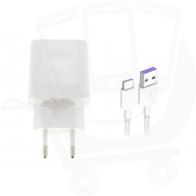 Official Huawei HW-050450E00 Super Charge 0.75Amp White Type C Mains Charger - EU