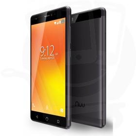 Nuu Mobile M3 Android™ 16GB Dual Sim 4G Sim Free / Unlocked Mobile Phone - Black