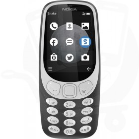 Nokia 3310 3G Charcoal Grey Sim Free / Unlocked Mobile Phone