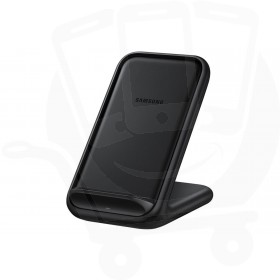 Official Samsung EP-N5200TBEGWW Black 15W Qi Wireless Charger Pad with Main Charger - EU