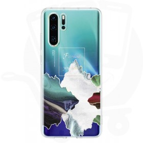 Official Huawei P30 Pro Glacial Fairyland Polycarbonate Case - 51993026