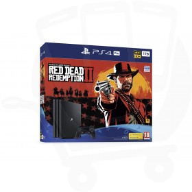 Sony PlayStation 4 Pro 1TB Console With Red Dead Redemption 2