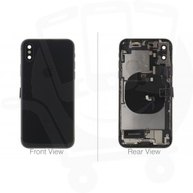Official Apple iPhone X Space Grey Battery Cover - C-Grade