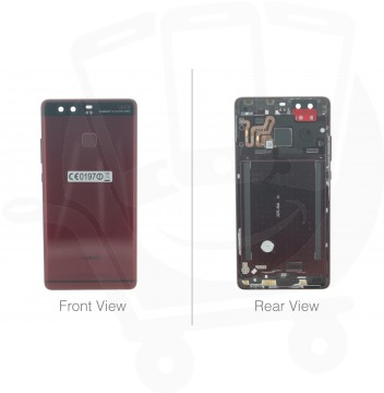 Official Huawei P9 EVA-L09 Red Rear / Battery Cover - 02351ATM