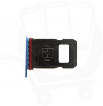 Official OnePlus 7 Pro Nebula Blue Sim Card Tray / Holder - 1071100194