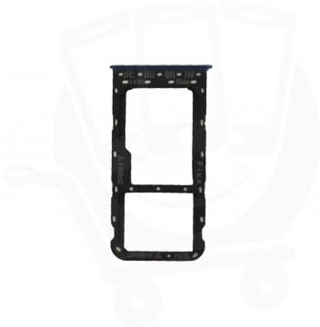 Genuine Huawei P Smart Blue Sim Card Tray / Holder - 51661HSE