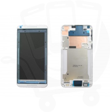 Genuine HTC Desire 816 White Laser Etching Middle Cover / Chassis - 83H40010-02