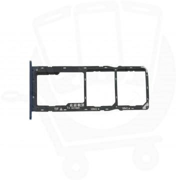 Genuine Huawei Y6 2018 Blue Sim & Memory Card Tray - 97070TTM