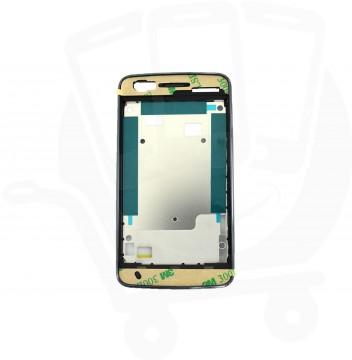 Genuine Alcatel One Touch S'Pop 4030 Dark Chrome LCD Support Frame - BCA26N0V21C0