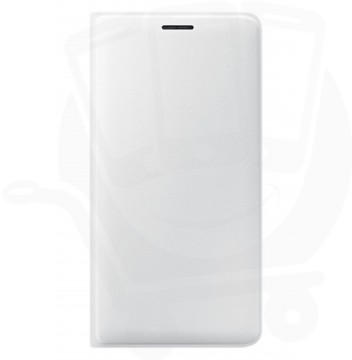 Official Samsung Galaxy J3 2016, SM-J320 White Flip Wallet Cover - EF-WJ320PWEGWW