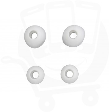 Genuine Samsung Small & Large White / Grey Replacement Ear Buds - For EO-EG900
