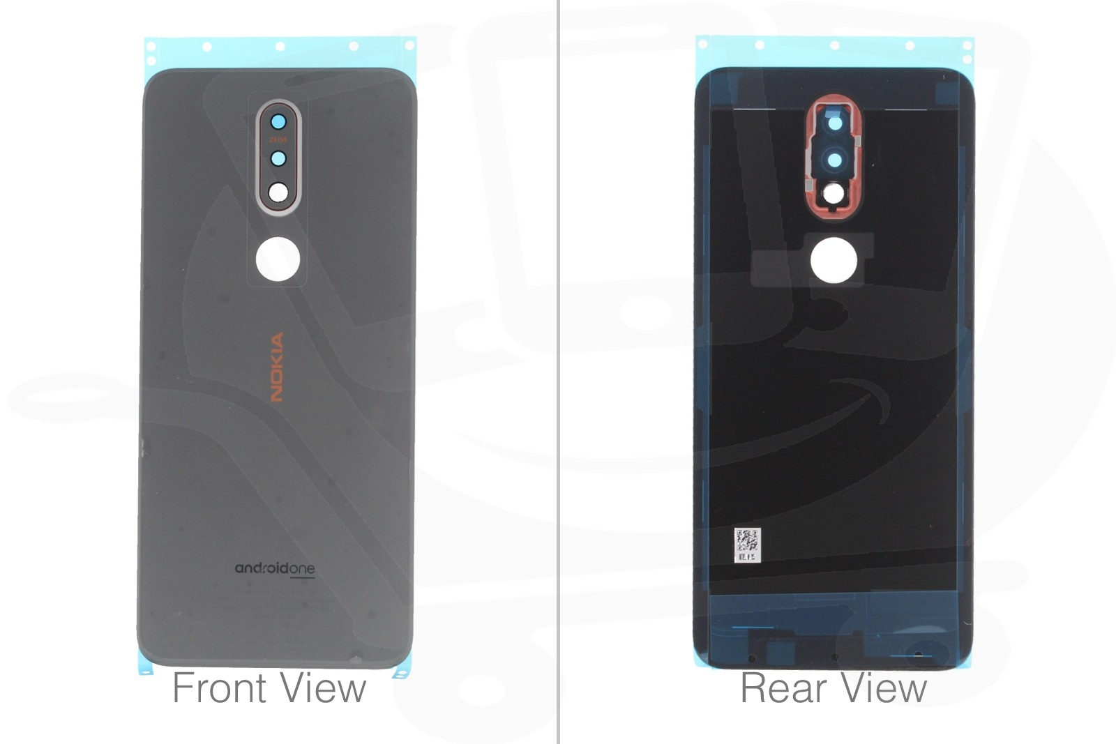 detailed look 64991 b815e Official Nokia 7.1 Dual Sim TA-1095 Steel Battery Cover - 20CTLSW0004