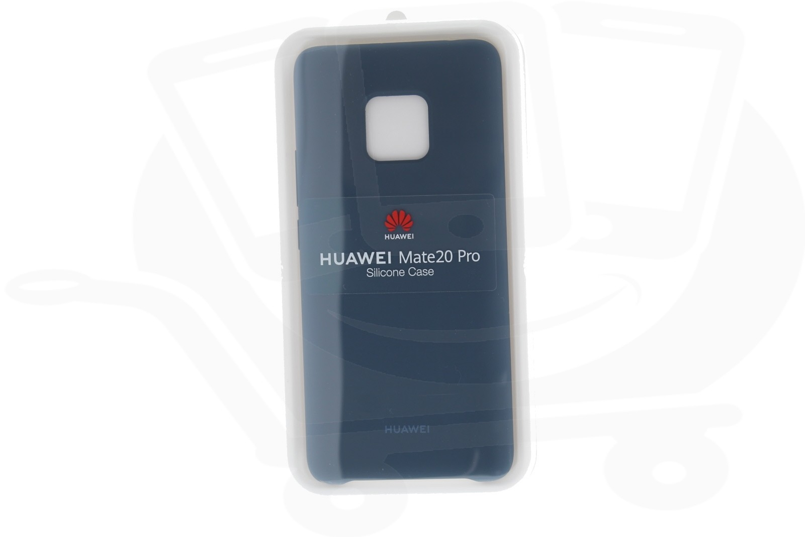 Official Huawei Mate 20 Pro Light Blue Silicon Protective Case