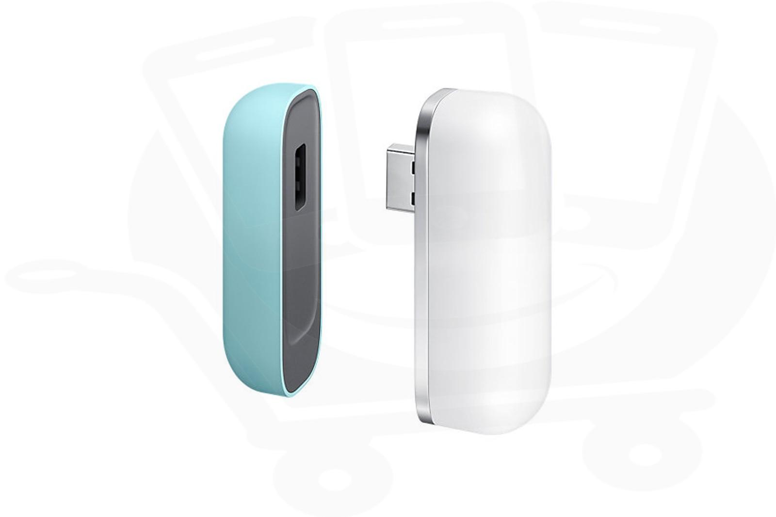 Official Samsung Evo 5 1 Green Battery Pack USB LED CAP Lamp - ET
