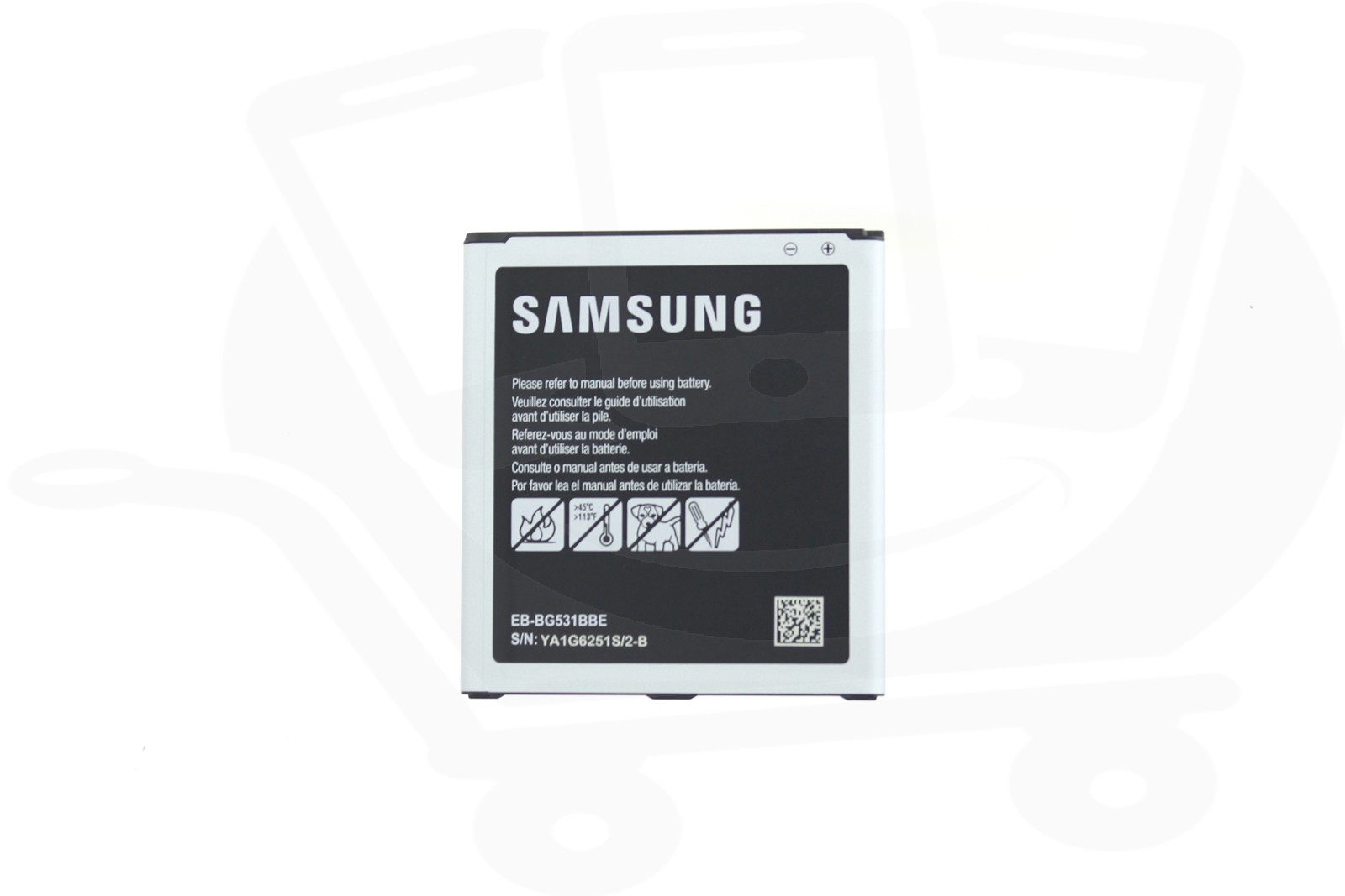 genuine samsung g531 grand prime 4g ve j3 2016 j5 sm j500f 2600mah battery eb bg530cbegww. Black Bedroom Furniture Sets. Home Design Ideas