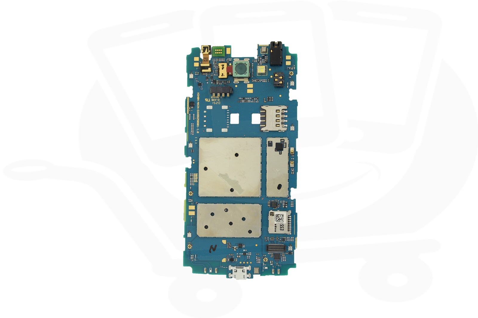 LG Leon H340N PCB Motherboard With IMEI Assigned & Camera ...