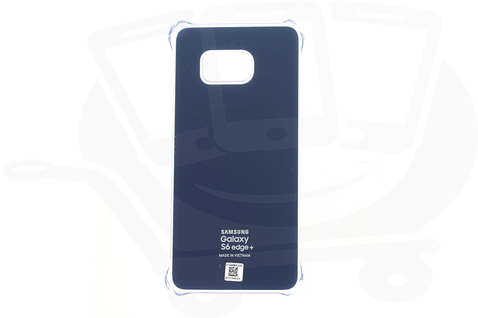 online store 1335e 56446 Official Samsung Galaxy S6 Edge+ Blue / Black Glossy Cover - EF ...