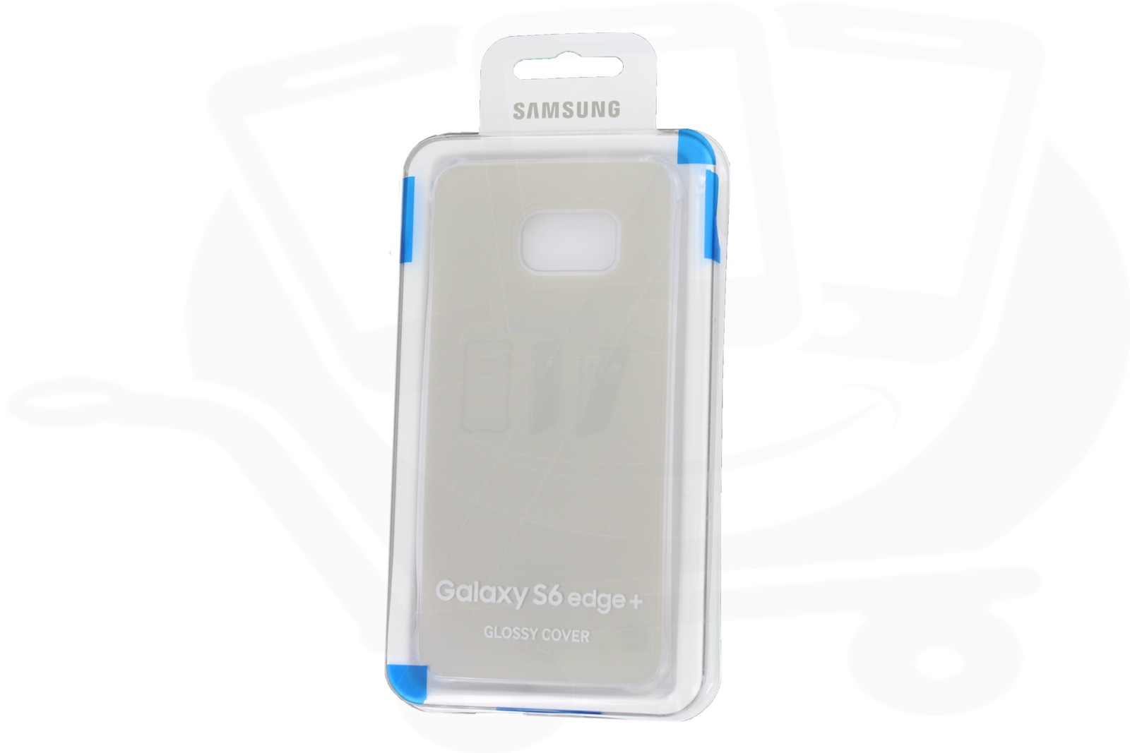 new concept bfb83 439fe Official Samsung Galaxy S6 Edge+ Gold Glossy Cover - EF-QG928MFEGWW