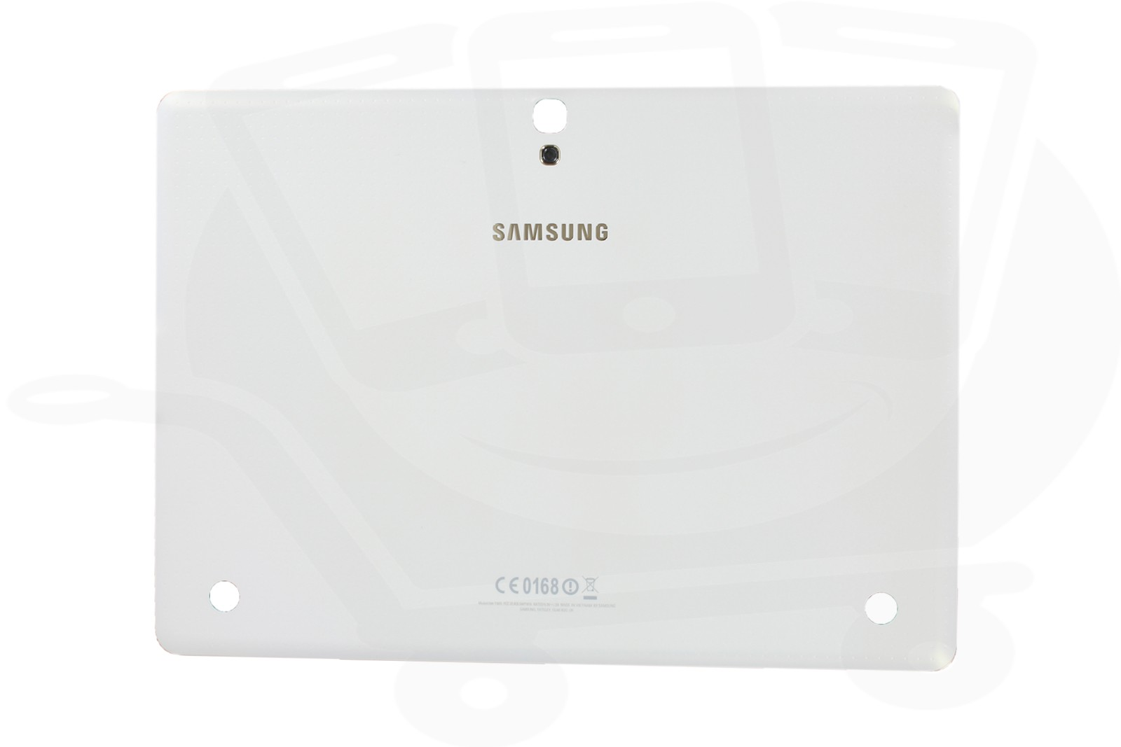 genuine samsung t805 galaxy tab s 10 5 lte 3g white rear. Black Bedroom Furniture Sets. Home Design Ideas