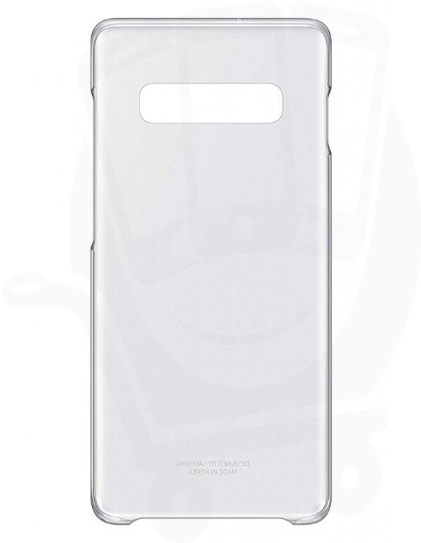 Official Samsung Galaxy S10 Plus Transparent Clear Cover / Case - EF-QG975CTEGWW