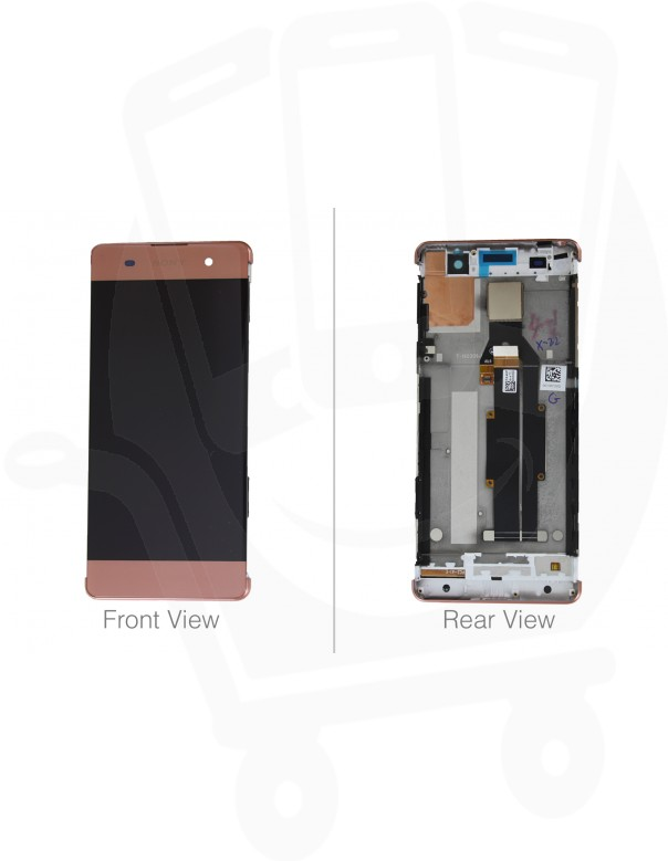 Genuine Sony Xperia XA F3111, F3112 Rose Gold LCD Screen & Digitizer - 78PA3100050