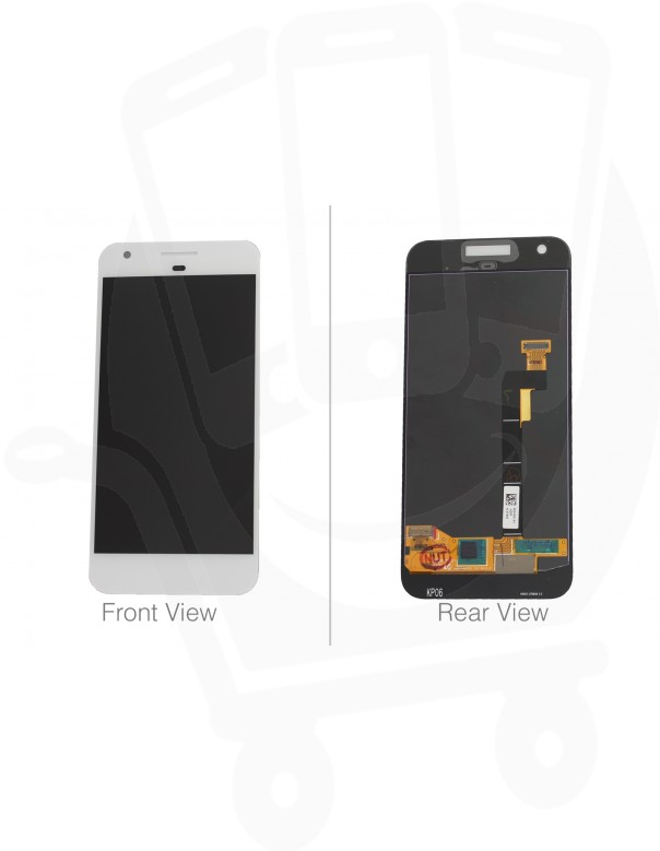 Genuine Google Pixel G-2PW4200 White LCD Screen & Digitizer - 83H90204-02