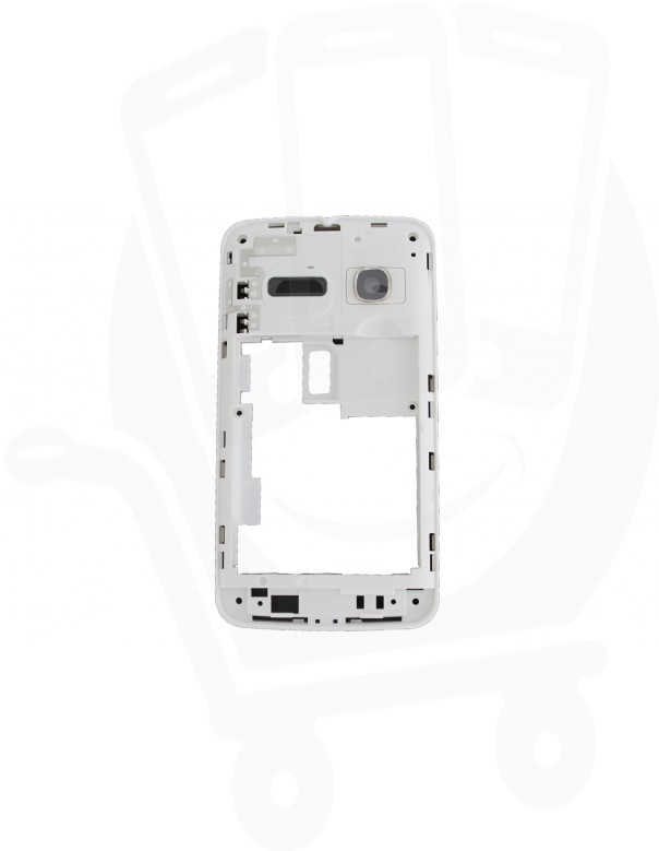 Genuine Alcatel One Touch S'Pop 4030 White Chassis / Middle Cover - BCC26N0B11C0