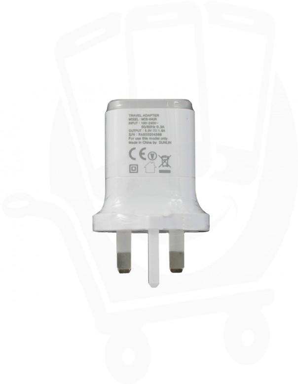 Genuine LG MCS-04UR White USB Mains Charging Adapter