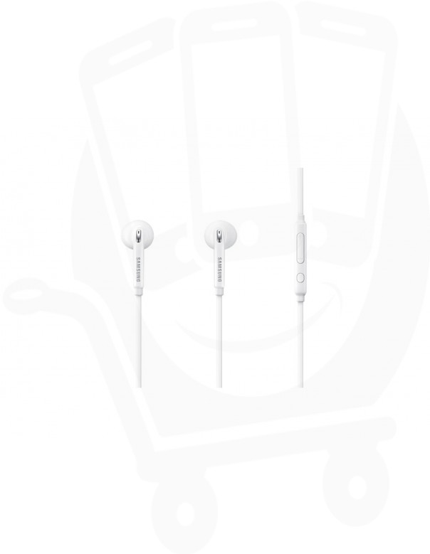 Official Samsung EO-EG920 White In-ear Headphones with Remote & Mic - 3.5mm - Jewel Case