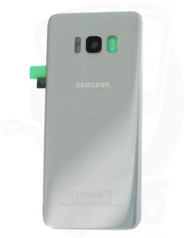 Genuine Samsung Galaxy S8 SM-G950 Silver Rear Glass
