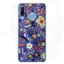Official Huawei P30 Lite Floral Blue Polycarbonate Case - 51993074