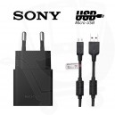 Genuine Sony EP-880 USB Adapter & EC-450 Micro USB Data Lead - EU