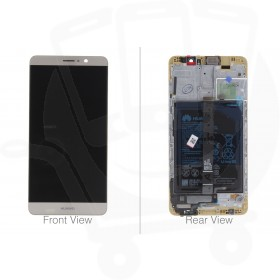 Official Huawei Mate 9 Champagne Gold LCD Screen & Digitizer with Battery - 02350YXL