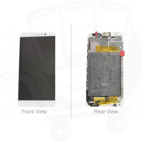 Genuine Huawei Mate 9 MHA-L09 Silver LCD Screen & Digitizer - 02351BAS