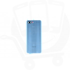 Genuine Honor 10 (COL-L29) Glacier Grey Glass Rear / Battery Cover - 02351XNY