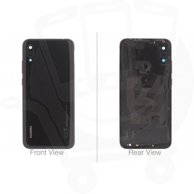 Genuine Huawei Y6 2019 Black Rear / Battery Cover - 02352LYH