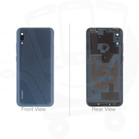 Genuine Huawei Y6 2019 Blue Rear / Battery Cover - 02352LYJ