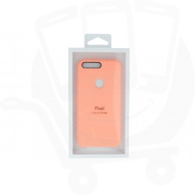 Official Google Pixel Peach Silicone Case / Cover - GA3C00422-A00