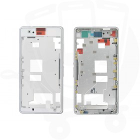 Genuine Sony D5503 Xperia Z1 Compact White Main Frame / Chassis - 1278-5729