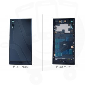 Genuine Sony Xperia XZ F8331, F8332 Blue Chassis / Middle Cover - 1302-1977