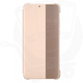Official Huawei P20 Pink Smart View Flip Case / Cover - 51992357