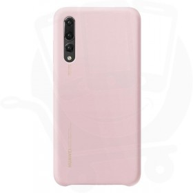 Official Huawei P20 Pink Silicon Protective Case / Cover - 51992361