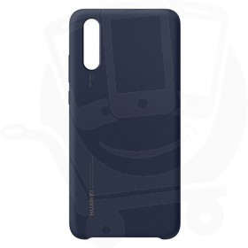 Official Huawei P20 Deep Blue Silicon Protective Case / Cover - 51992363