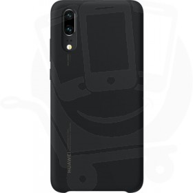 Official Huawei P20 Black Silicon Protective Case / Cover - 51992365