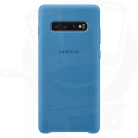 Official Samsung Galaxy S10 Blue Silicone Cover / Case - EF-PG973TLEGWW
