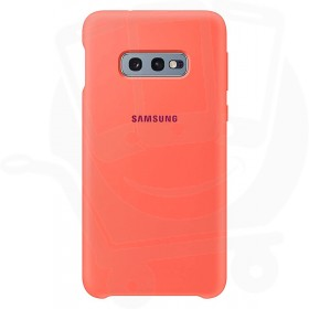 Official Samsung Galaxy S10e Berry Pink Silicone Cover / Case - EF-PG970THEGWW